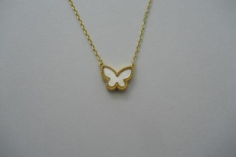 Adorn Yourself With Beautiful Butterfly Necklace